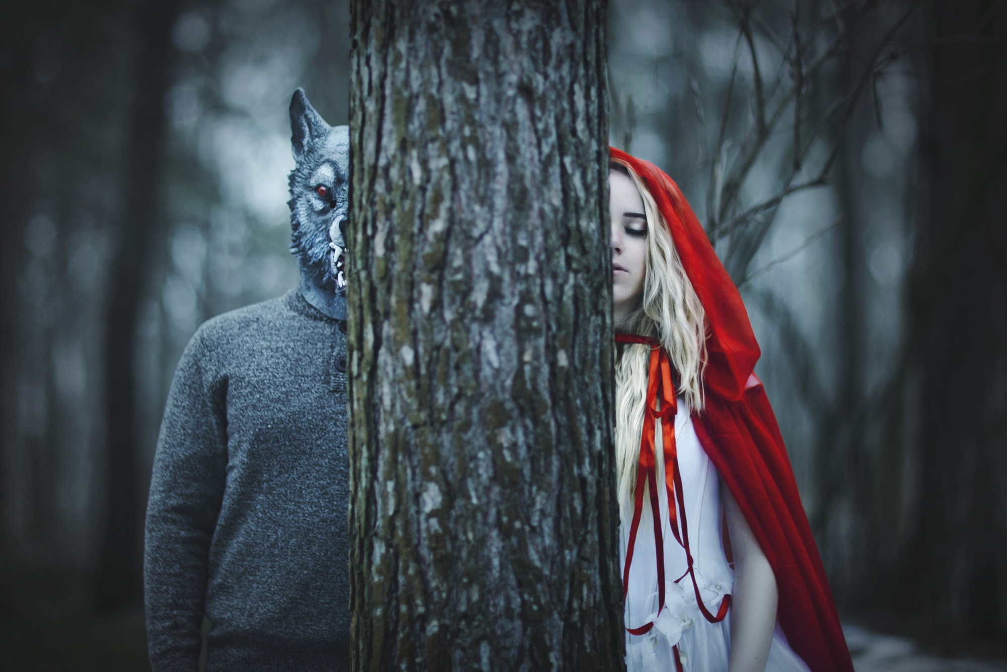 Horror Photography Tips Photo Retouching Sample